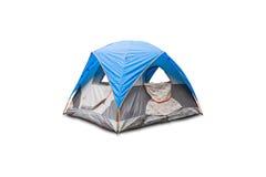 tenda blu della cupola Immagini Stock