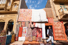 Tenda da tapeçaria Imagens de Stock Royalty Free