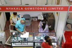 Tenda das pedras preciosas do nyakala limitadas Fotografia de Stock Royalty Free