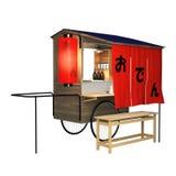 Tenda de rua asiática Imagens de Stock Royalty Free