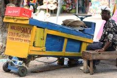Tenda de rua de Jamaica Imagens de Stock Royalty Free