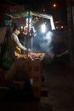 Tenda de rua do BBQ, Vietname Fotografia de Stock