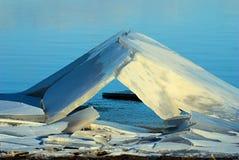 Tenda del ghiaccio Fotografie Stock Libere da Diritti