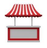 Tenda del mercato Immagini Stock