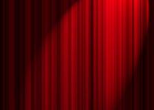 Tenda del teatro Immagini Stock Libere da Diritti