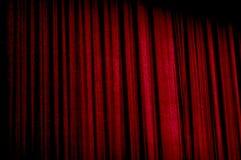 Tenda del velluto Fotografie Stock