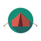 Tenda dell'icona Fotografia Stock