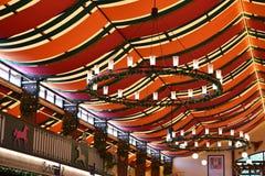 Tenda della birra di Oktoberfest Fotografia Stock