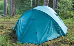 tenda della foresta immagine stock