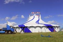 Tenda 1 della grande cima del circo Immagine Stock
