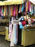 Tenda delle sciarpe Immagini Stock Libere da Diritti