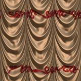 Tenda di Brown con il modello royalty illustrazione gratis