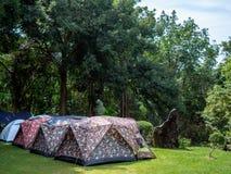 Tenda di campeggio immagine stock libera da diritti