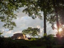 Tenda di campeggio immagini stock