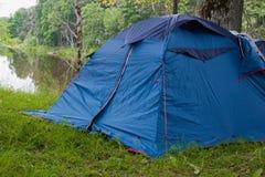Tenda di campeggio Fotografie Stock Libere da Diritti