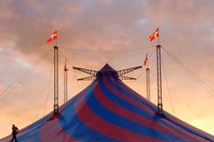 Tenda di circo Immagini Stock Libere da Diritti