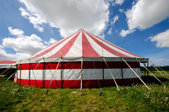 Tenda di circo Fotografia Stock