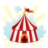 Tenda di circo Immagini Stock
