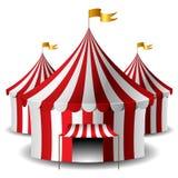 Tenda di circo illustrazione vettoriale