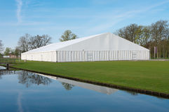 Tenda di evento Fotografie Stock