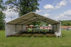 tenda di evento Fotografia Stock
