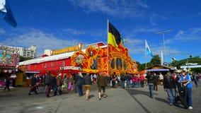 Tenda di Hippodrom a Oktoberfest fotografia stock libera da diritti