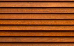 Tenda di legno di Brown Fotografie Stock