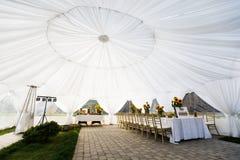 Tenda di nozze Immagine Stock Libera da Diritti