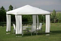 Tenda di picnic Immagini Stock Libere da Diritti