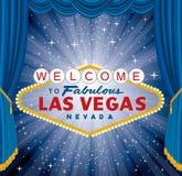 Tenda di scoppio di Vegas illustrazione di stock