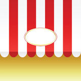 Tenda di vettore royalty illustrazione gratis