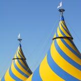 Tenda do circus fotos de stock