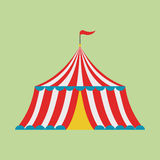 Tenda do circus Fotografia de Stock Royalty Free