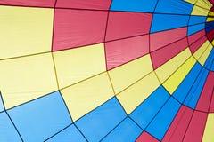 Tenda do circus colorida feita da tela Foto de Stock