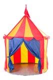 Tenda do circus das crianças imagens de stock
