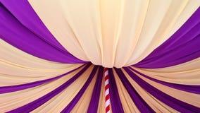 Tenda do circus para dentro vídeos de arquivo