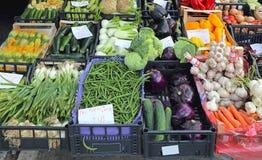 Tenda do mercado Fotografia de Stock Royalty Free