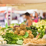 Tenda do mercado do fazendeiro Imagens de Stock