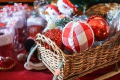 Tenda do mercado do Natal Imagem de Stock Royalty Free