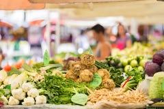 Tenda do mercado dos fazendeiros Fotografia de Stock Royalty Free