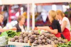 Tenda do mercado dos fazendeiros Imagem de Stock Royalty Free