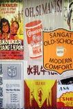 Tenda do retalho do chinês situada em Tualang Imagem de Stock Royalty Free