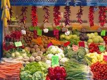 Tenda dos vegetais Imagem de Stock