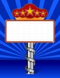 Tenda foranea con l'illustrazione della striscia della pellicola degli involucri royalty illustrazione gratis