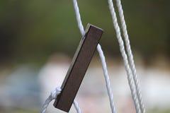 Tenda Guy Rope Fotografie Stock Libere da Diritti