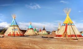 Tenda indiana Fotografia Stock Libera da Diritti