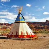 Tenda indiana Immagine Stock Libera da Diritti