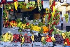 Tenda italiana da fruta Imagens de Stock Royalty Free