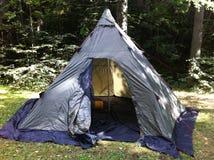 Tenda/lavo Fotografie Stock