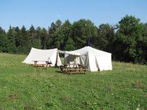 Tenda medievale Fotografia Stock Libera da Diritti
